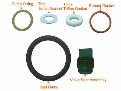 Scuba Valve Service Kit Spare Parts Rebuild Kit for Yoke Type # KIT-K6