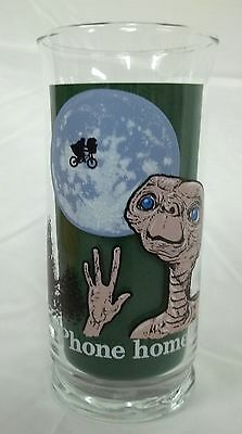 """(#251) Pizza Hut 1982 E.T. The Extra-Terrestrial """" Phone Home """" Promo Glass"""