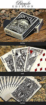 Bicycle Golden Spike Playing Cards Deck New Sealed