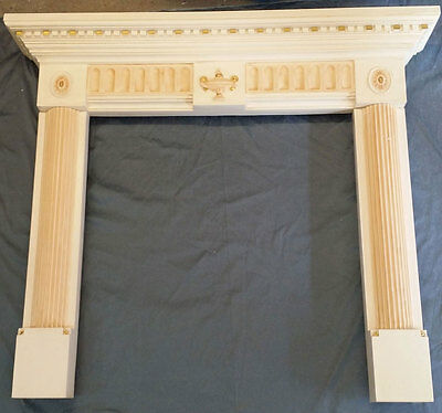 "53""W X 46""TALL FIRE PLACE MANTEL #5, Painted"