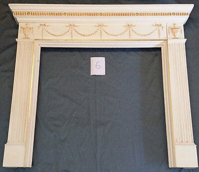 """53 1/4""""w X 45 1/4""""tall Fire Place Mantel #6, In Color"""