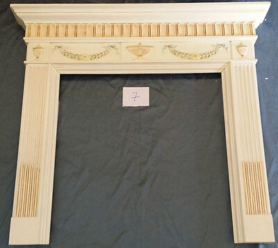 "53 1/4""W X 47 1/2""TALL FIRE PLACE MANTEL #7, Painted"