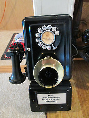 Telephone Hotel Western Electric ?/ Very nice needs wiring to correct posts