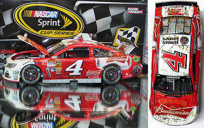 KEVIN HARVICK 2014 DARLINGTON WIN BUDWEISER RACED VERSION 1/24 ACTION  IN STOCK