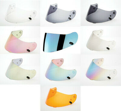 HJC HJ-09 Clear & Tinted Replacement Visor Face Shields Fits CL-17 Model Helmets