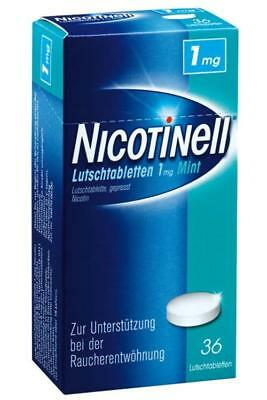 NICOTINELL Lutschtabletten 1 mg Mint 36St PZN: 3061835