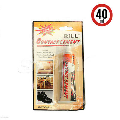 New Super Glue Contact Cement Plastic Wood Leather Rubber Shoe Timber Superglue