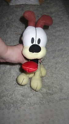 "odie from garfield soft toy 10"" by play by play"