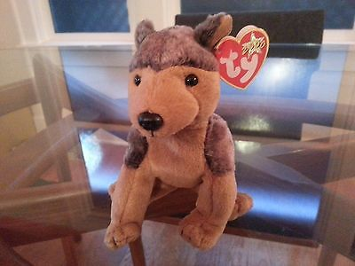 'Sarge' the Guard Dog Ty Beanie Baby - MINT - RETIRED