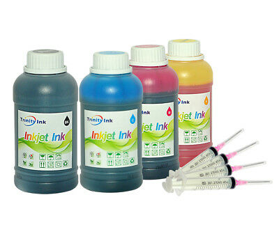 4x10oz Refill Ink Kit for HP 932XL 933XL refillable cartridges HP OfficeJet 6600