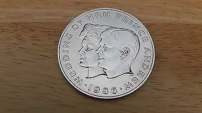 1986. Samoa - Crown Sized $1.Coin - The Wedding Of Andrew & S. Ferguson. BUNC