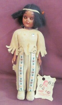 Vintage Hand Made Native American Doll / Qualla Reservation