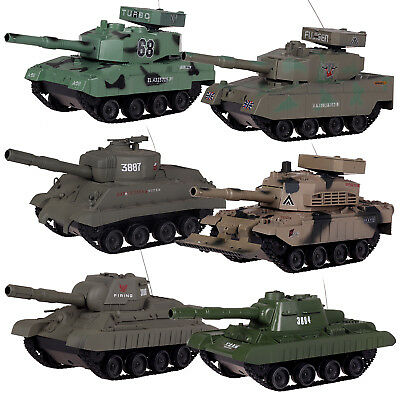 New Radio Remote Control Tank BB Shooting Choose From 6 Styles