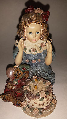 YESTERDAYS CHILD -THE DOLLSTONE COLLECTION-#3509 - REBECCA WITH ELLIOT BIRTHDAY