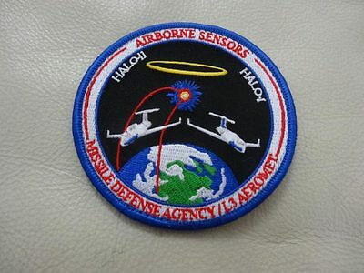 AIRBORNE SENSORS MISSILE DEFENSE AGENCY /L3 AEROMET PATCH...ONLY ONE ON EBAY
