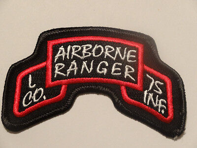 AREABORNE RANGER  L. CO.. 75TH  INF...
