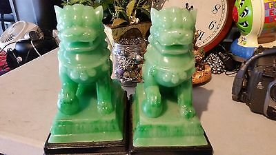 set of Chinese Fengshui Foo Dogs