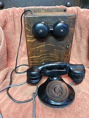 Antique MonoPhone by Automatic Electric Co with Ringer Box {1315}