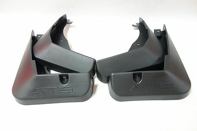 For 2014 ATS Molded Splash Guards Mud Flaps With Logo