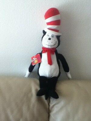 Dr. Seuss THE CAT IN THE HAT  2013 Kohl's Care For Kids  23 Inches Tall With Tag