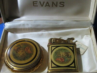 Evans Lighter and Compact Set in the box