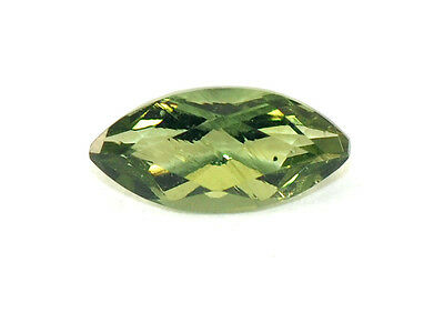 0.32cts 7.5x3.5mm moldavite faceted cutted gem BRUS609