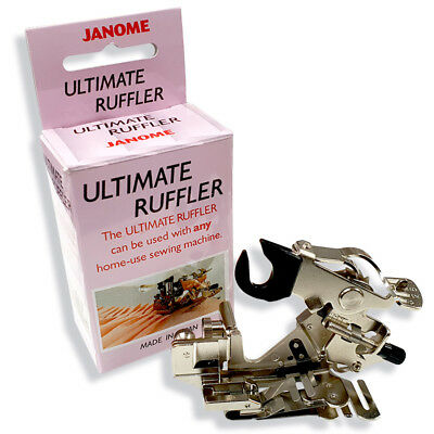 Janome Ultimate Ruffler Foot - The Best Foot for Ruffling, Pleating and Quilting