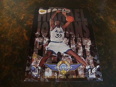 1993-94 Upper Deck---Michael Jordan's Flight Team--Jumbo--Shaquille O'Neal--XHTF