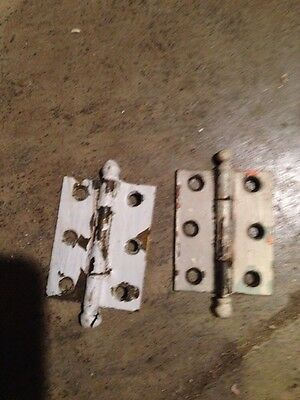 "D 41 One Pair Matching Hinges 2.25"" X 1 And Three-Quarter Inch"