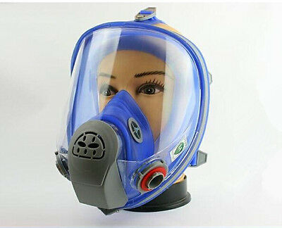 Silicone Gas Mask Full Facepiece Respirator Suit Painting 7PCS For 3M 6800