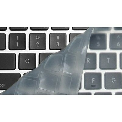 "Protection clavier QWERTY Transparente pour Macbook 13"" 15"" et IMAC"