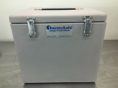 ThermoSafe 422 Low Temperature Sample Transport Chest New In Box with Warranty