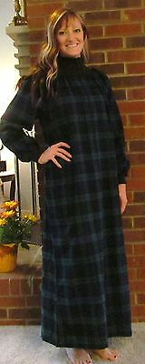 Robe/Nightgown Popover Zipper Pockets Petite and Regular Sizes- Only a few left