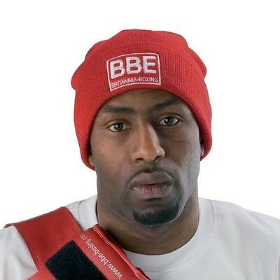 York Fitness BBE Boxing Gym Beanie Hat BBE198 - Red