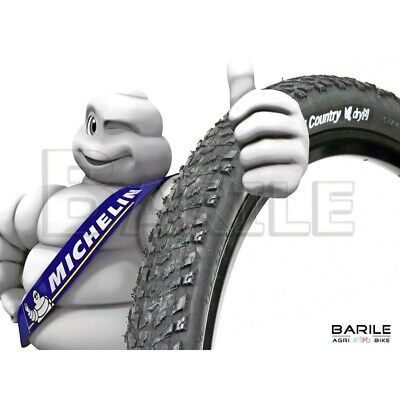 Copertone / Pneumatico MICHELIN COUNTRY DRY 2 Bici MTB 26 x 2.00 PROFESSION NERO