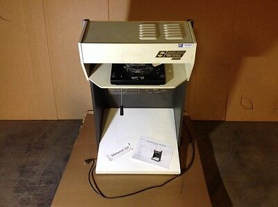 Northwest Microfilm Microfiche Viewer Reader Model NMI 2020A  With Cleaning Info