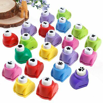Kid Children DIY Printing Paper Shaper Punch Card Cutter Scrapbooking Craft Tool
