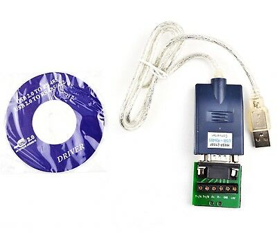 3Ft. (3 Feet) USB 2.0 to RS485/RS422 Serial Converter Adapter for Win7/8, Mac
