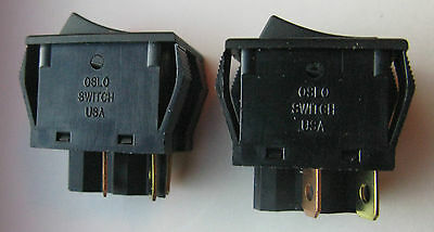 Oslo Rocker Switch BTP-591931 TAMCN A0012 Soldier Portable Charger SPC Lot of 2