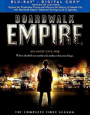 BRAND NEW 5 BLU-RAY BOX SET  // Boardwalk Empire: The Complete First Season