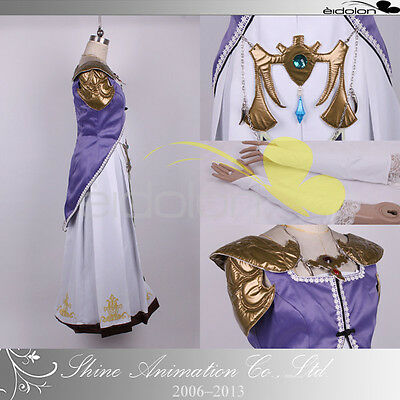 New The Legend of Zelda Princess Zelda Cosplay Costume Full SIZE
