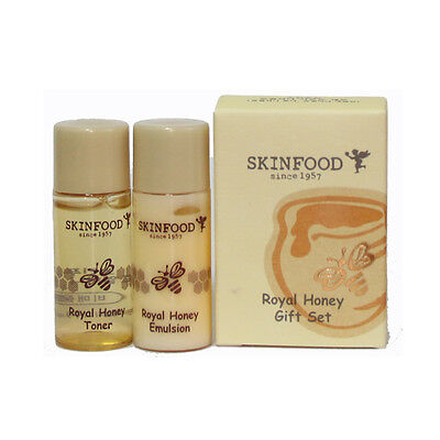 [SKINFOOD] Royal Honey Gift Set Toner & Emulsion 2set (4ea) - Korea Cosmetic