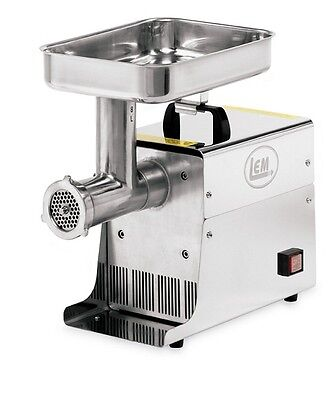 NEW LEM Products W779A Big Bite Compact Electric Countertop #8 Meat Grinder