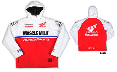 Troy Lee Designs Muscle Milk Team Honda Motocross Jacket white TL1010