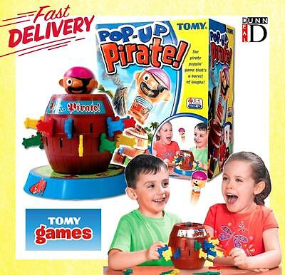 TOMY Pop-Up Pirate BRAND NEW GAME