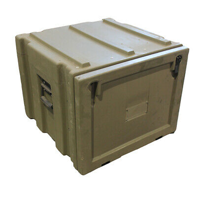Heavy Duty Spacecase Modular Bin Pack Storage Box Container Military Trimcast