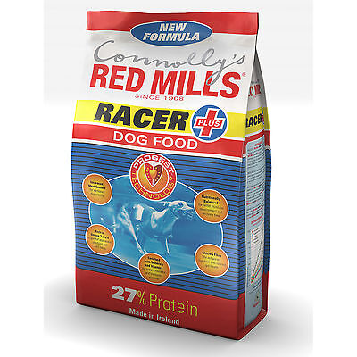 Connollys RED MILLS Racer 27% Complete Performance Adult Greyhound Food 15Kg