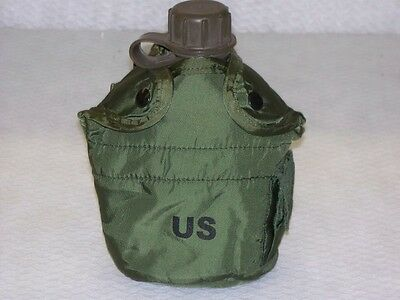 US GI 1 Qt Canteen and Cover set. New Unissued Surplus Items