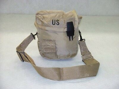 US GI 2 Qt Canteen Carrier with Shoulder Strap, New Unissued Surplus Item