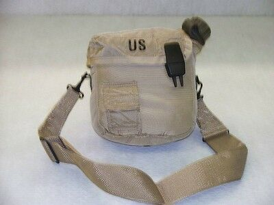 US GI 2 Qt Canteen with Carrier/Cover and Shoulder Strap, Unissued Surplus